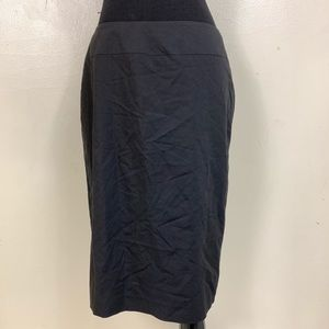 BANANA REPUBLIC BLACK TUXEDO PENCIL SKIRT SIZE 4
